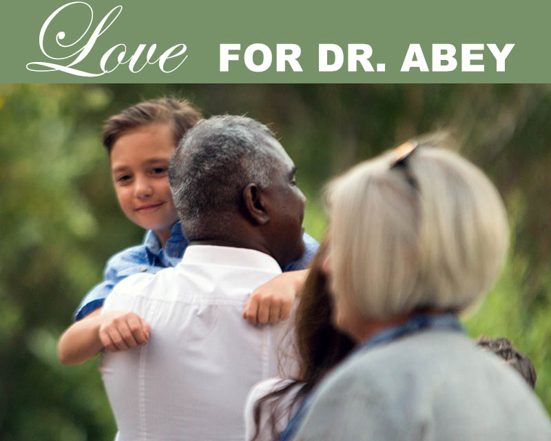 Newsletter-Love for Dr. Abey
